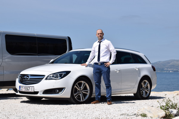Transfer Taxi from SPLIT to DUBROVNIK (Private)